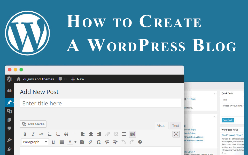 How to create a wordpress blog e search advisors blog for How to build a blog